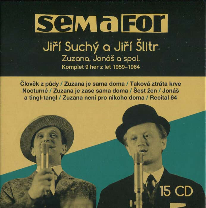Semafor Komplet 9 her z let 1959-1964 (15 CD) - mluvené slovo