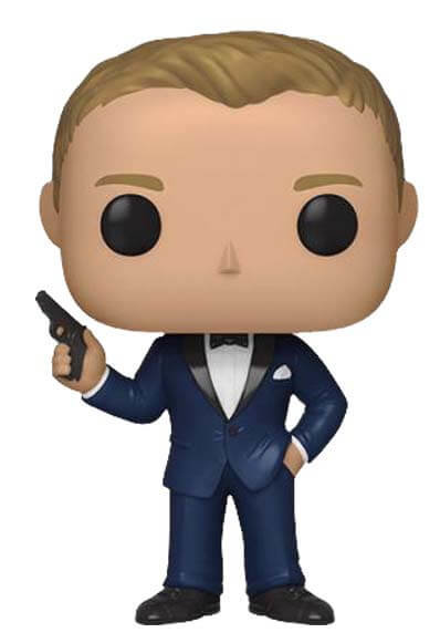 Funko POP! James Bond S2 - Daniel Craig (Casino Royale) (9 cm)