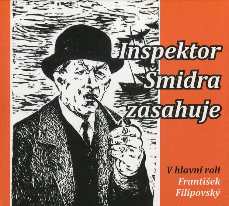 Inspektor Šmidra zasahuje (CD) - mluvené slovo