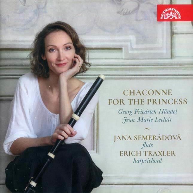 Jana Semerádová, Erich Traxler: Chaconne pro princeznu - Händel, Leclair (CD)