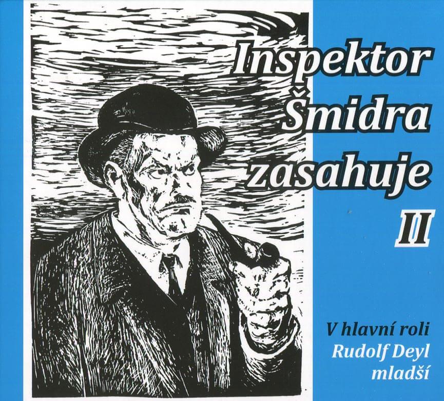Inspektor Šmidra zasahuje 2 (CD) - mluvené slovo