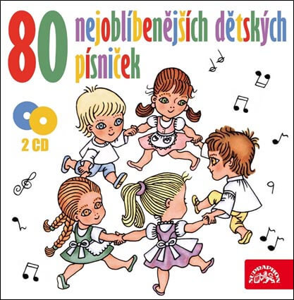 80 nejoblíbenějších dětských písniček (2 CD)