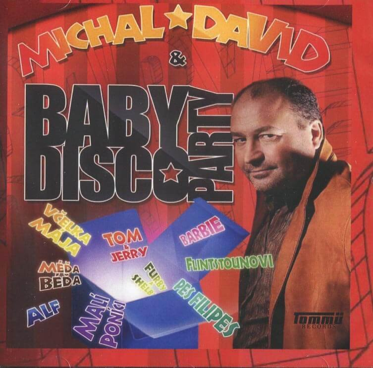 Michal David: Baby disco party (CD)