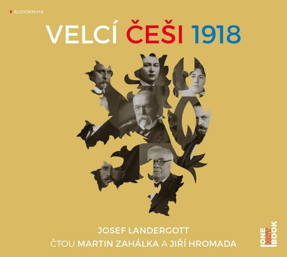 Velcí Češi 1918 (MP3-CD) - audiokniha