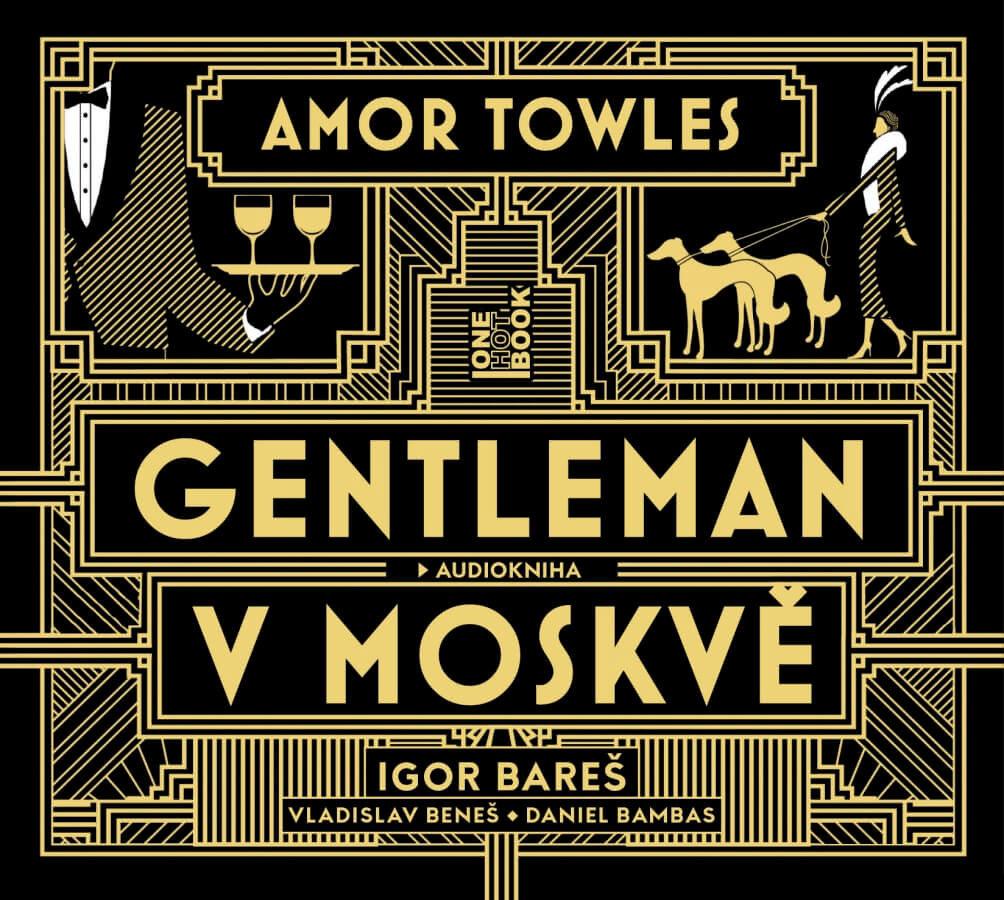 Gentleman v Moskvě (2 MP3-CD) - audiokniha