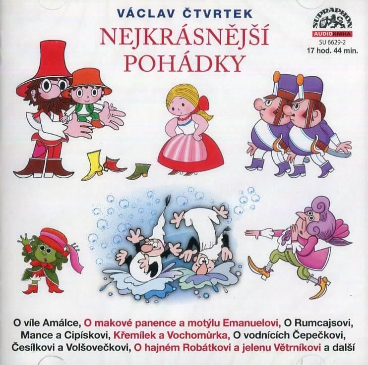 Nejkrásnější pohádky hezky pohromadě (2 MP3-CD) - audiokniha