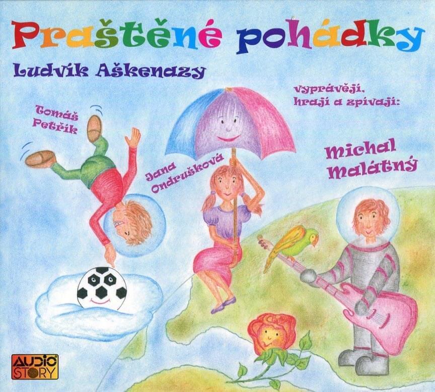 Praštěné pohádky (CD) - audiokniha