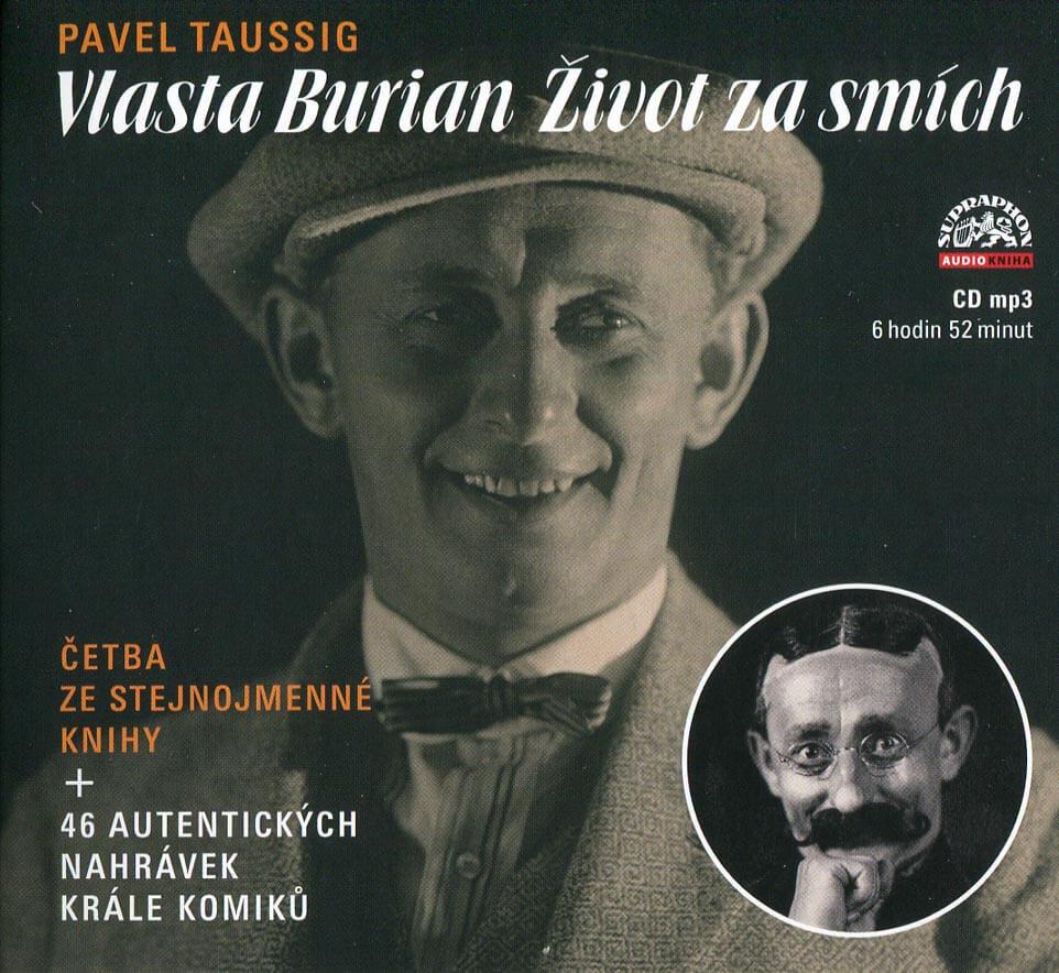 Vlasta Burian - Život za smích (MP3-CD) - audiokniha