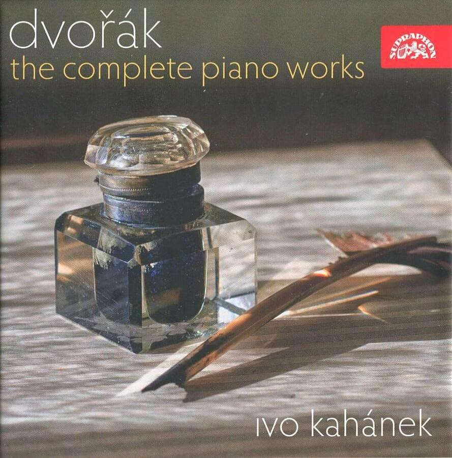 Ivo Kahánek - Antonín Dvořák, Kompletní klavírní dílo (4 CD)