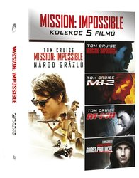 Mission: Impossible kolekce 1-5 - 5xDVD
