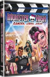 Monster High - Kamera, lebka, jedem! (DVD)