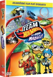Team Hot Wheels: Kde se berou mazáci! (DVD)