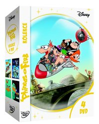 Phineas a Ferb kolekce 1.-4. - 4xDVD