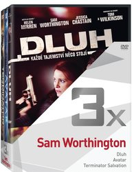 3x Sam Worthington (Dluh, Avatar, Terminator Salvation) - kolekce (3 DVD)