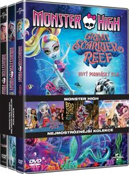 3x Monster High - kolekce (3xDVD)
