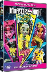 Monster High: Monstrózní napětí (DVD)