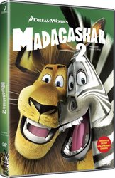 Madagaskar 2: Útěk do Afriky (DVD) - edice BIG FACE