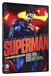 Superman Animated Collection (5 DVD) - bez CZ podpory