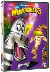 Madagaskar 3 (DVD) - edice BIG FACE II.