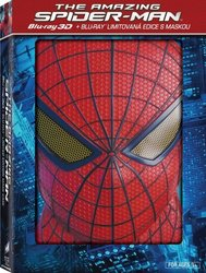 Amazing Spider-Man - 2D + 3D (BLU-RAY) + maska Spider-Man