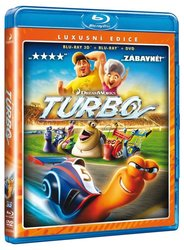 Turbo - COMBO (2D + 3D) (2 BLU-RAY) + DVD Turbo