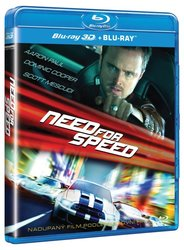 Need for Speed (2D+3D) (1 BLU-RAY)