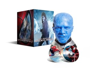 Amazing Spider-Man 2 (2D+3D) (2 BLU-RAY) - limitovaná edice Electro Head