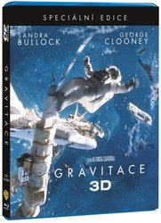 Gravitace (2D+3D) (3xBLU-RAY) - SPECIAL EDITION