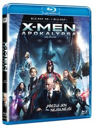 X-Men: Apokalypsa (2D+3D) (2xBLU-RAY)