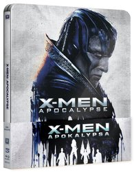 X-Men: Apokalypsa (2D+3D) (2xBLU-RAY) - STEELBOOK