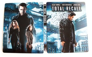 Total Recall (2012) (2 BLU-RAY) - STEELBOOK