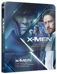 X-MEN Prequel kolekce 4-6 (3 BLU-RAY) - STEELBOOK