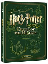 Harry Potter a Fénixův řád (BLU-RAY+DVD BONUS) - STEELBOOK
