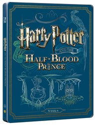 Harry Potter a princ dvojí krve (BLU-RAY+DVD BONUS) - STEELBOOK