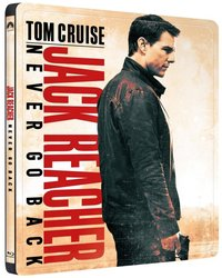 Jack Reacher: Nevracej se (BLU-RAY) - STEELBOOK
