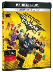 LEGO Batman Film (4K ULTRA HD+BLU-RAY) (2 BLU-RAY)