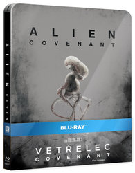 Vetřelec: Covenant (BLU-RAY) - STEELBOOK