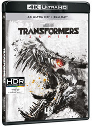 Transformers 4: Zánik (4K ULTRA HD+BLU-RAY) (2 BLU-RAY)