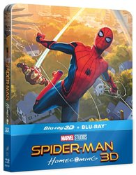 Spider-Man: Homecoming (2D+3D) (2 BLU-RAY) - STEELBOOK