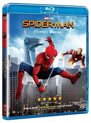 Spider-Man: Homecoming (BLU-RAY) + komiks