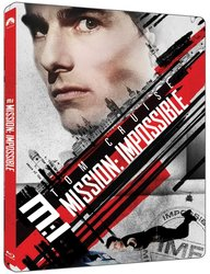 Mission: Impossible (4K ULTRA HD+BLU-RAY) (2 BLU-RAY) - STEELBOOK