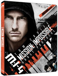 Mission: Impossible 4 - Ghost Protocol (4K ULTRA HD+BLU-RAY) (2 BLU-RAY) - STEELBOOK