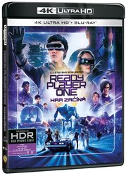 Ready Player One: Hra začíná (4K ULTRA HD+BLU-RAY) (2 BLU-RAY)