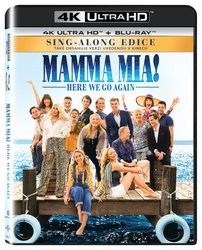 Mamma Mia! 2: Here We Go Again (4K ULTRA HD+BLU-RAY) (2 BLU-RAY)