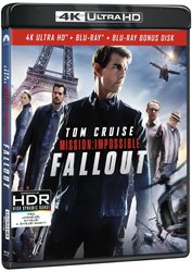 Mission: Impossible 6: Fallout (4K ULTRA HD+2 BLU-RAY) (3 BLU-RAY)