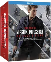 Mission: Impossible kolekce 1-6 (6 BLU-RAY)