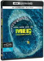 MEG: Monstrum z hlubin (4K ULTRA HD+BLU-RAY) (2 BLU-RAY)