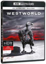Westworld 2. série (4K ULTRA HD) (3 BLU-RAY) - HBO seriál