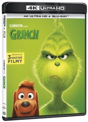 Grinch (2018) (4K ULTRA HD+BLU-RAY) (2 BLU-RAY) - animovaný