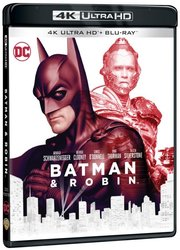 Batman a Robin (4K ULTRA HD+BLU-RAY) (2 BLU-RAY)